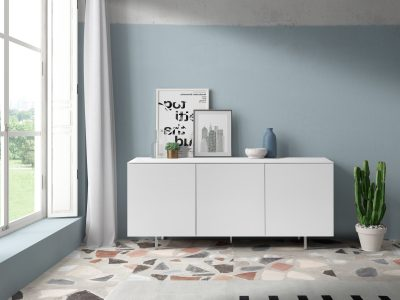 W-132 White Buffet