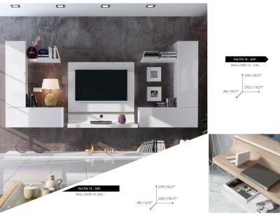 Fenicia Wall Unit Salon 12