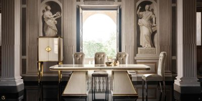 Collections Arredoclassic Dining Room, Italy Diamante