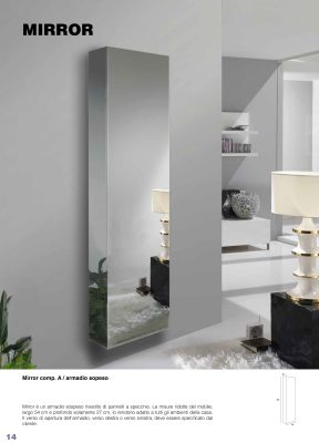 Collections Esa Linea Hall Units, Italy Mirror