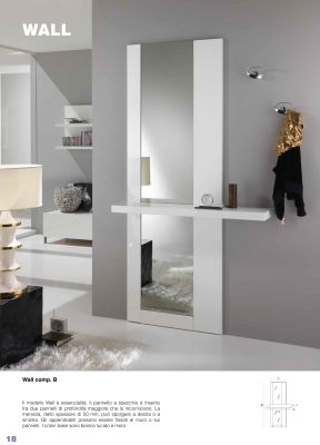 Collections Esa Linea Hall Units, Italy Wall