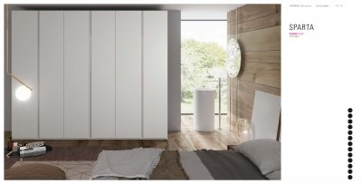 Brands Garcia Sabate, Modern Bedroom Spain YM509 Sliding Doors Wardrobes