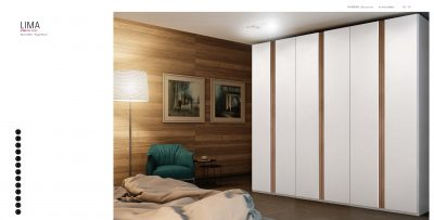 Brands Garcia Sabate, Modern Bedroom Spain YM511 Sliding Doors Wardrobes