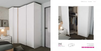 Brands Garcia Sabate, Modern Bedroom Spain YM520 Sliding Doors Wardrobes