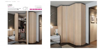 Brands Garcia Sabate, Modern Bedroom Spain YM521 Sliding Doors Wardrobes