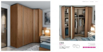 Brands Garcia Sabate, Modern Bedroom Spain YM522 Sliding Doors Wardrobes