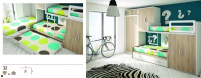 Collections Joype Kids Bedrooms, Spain Composition 32