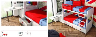 Collections Joype Kids Bedrooms, Spain Composition 36