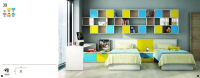Collections Joype Kids Bedrooms, Spain Composition 39