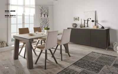 Lider Table & Mira Chairs