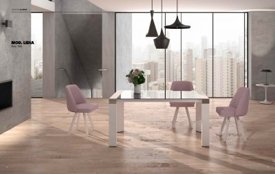 Lidia Table & Albi Chairs