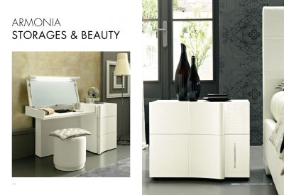 Collections SMA Modern Bedrooms, Italy ARMONIA STORAGE