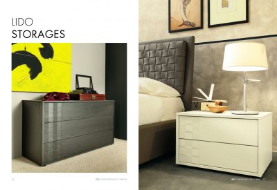 Collections SMA Modern Bedrooms, Italy LIDO STORAGE