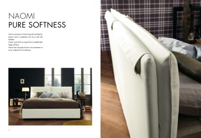 Collections SMA Modern Bedrooms, Italy NAOMI BED