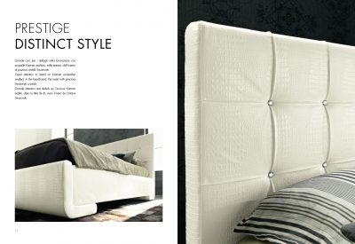 Collections SMA Modern Bedrooms, Italy PRESTIGE BED