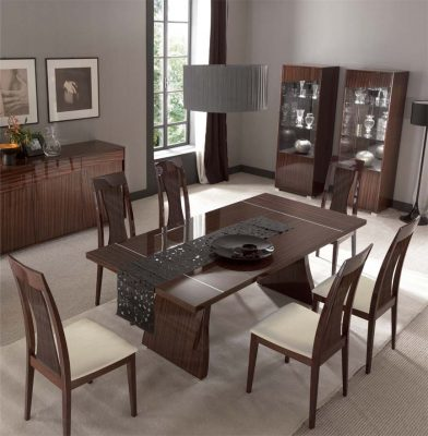 Collections SMA Modern Dining, Italy Sogno Dining Set