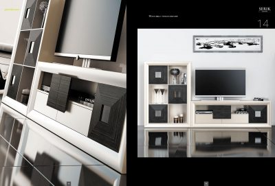 Brands Franco Serik  Wall Unit Collection, Spain SERIK 14