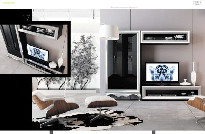 Brands Franco Serik  Wall Unit Collection, Spain SERIK 17