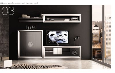 Brands Franco Serik  Wall Unit Collection, Spain SERIK 03