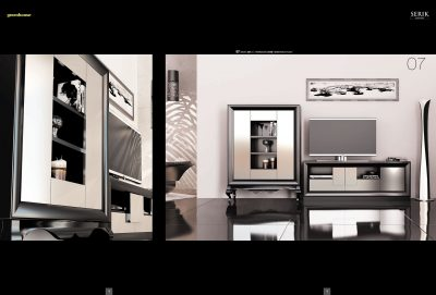 Brands Franco Serik Wall Unit Collection, Spain SERIK 07