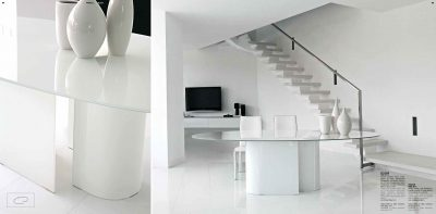 Collections Unico Tables and Chairs, Italy ECLISSE