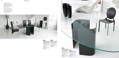 Collections Unico Tables and Chairs, Italy OMEGA