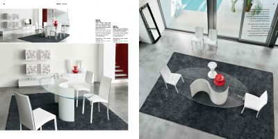 Collections Unico Tables and Chairs, Italy SEGNO