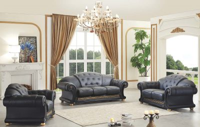 Living Room Furniture Sofa Beds Apolo Black
