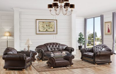 Living Room Furniture Sofas Loveseats and Chairs Apolo Brown