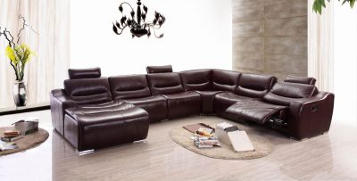 Living Room Furniture Sectionals 2144 Sectional 1 Recliner