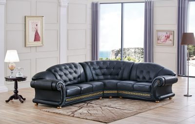 Apolo Sectional Black