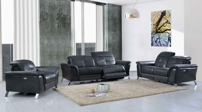 Living Room Furniture Reclining and Sliding Seats Sets 2619 with Electric Recliners