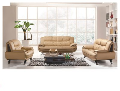 Living Room Furniture Sofas Loveseats and Chairs 405 Beige/Brown