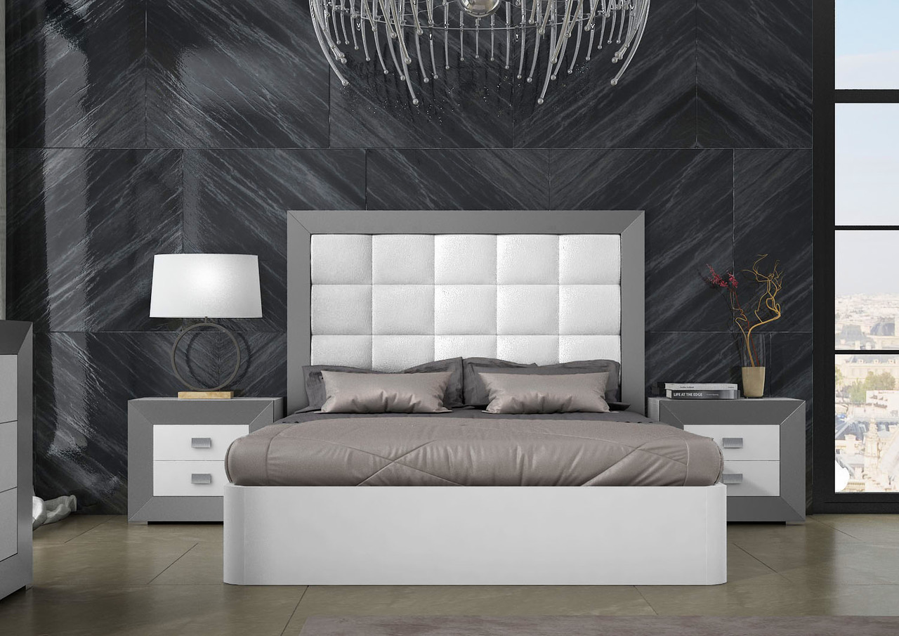 Bedroom Furniture Modern Bedrooms QS and KS Margo QS Storage Bedroom
