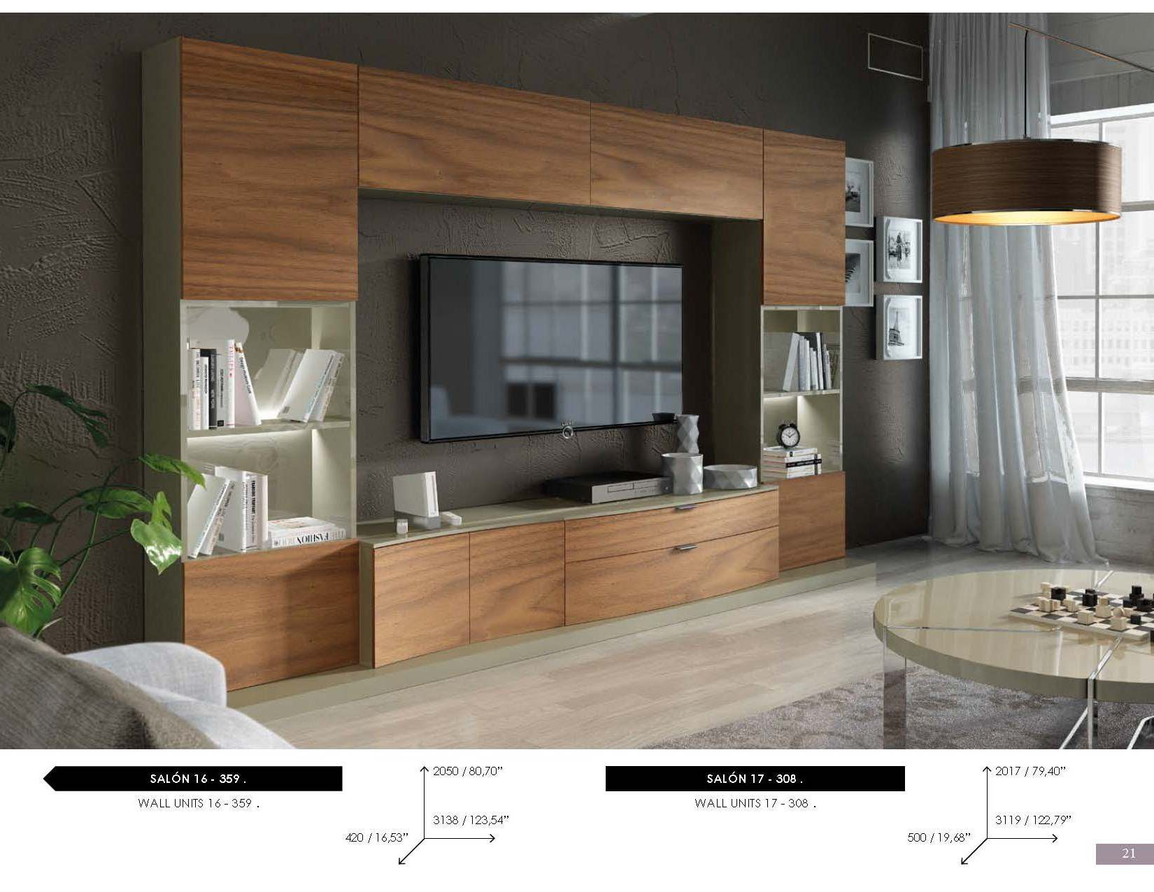 Brands Fenicia Wall Units, Spain Fenicia Wall Unit Salon 17
