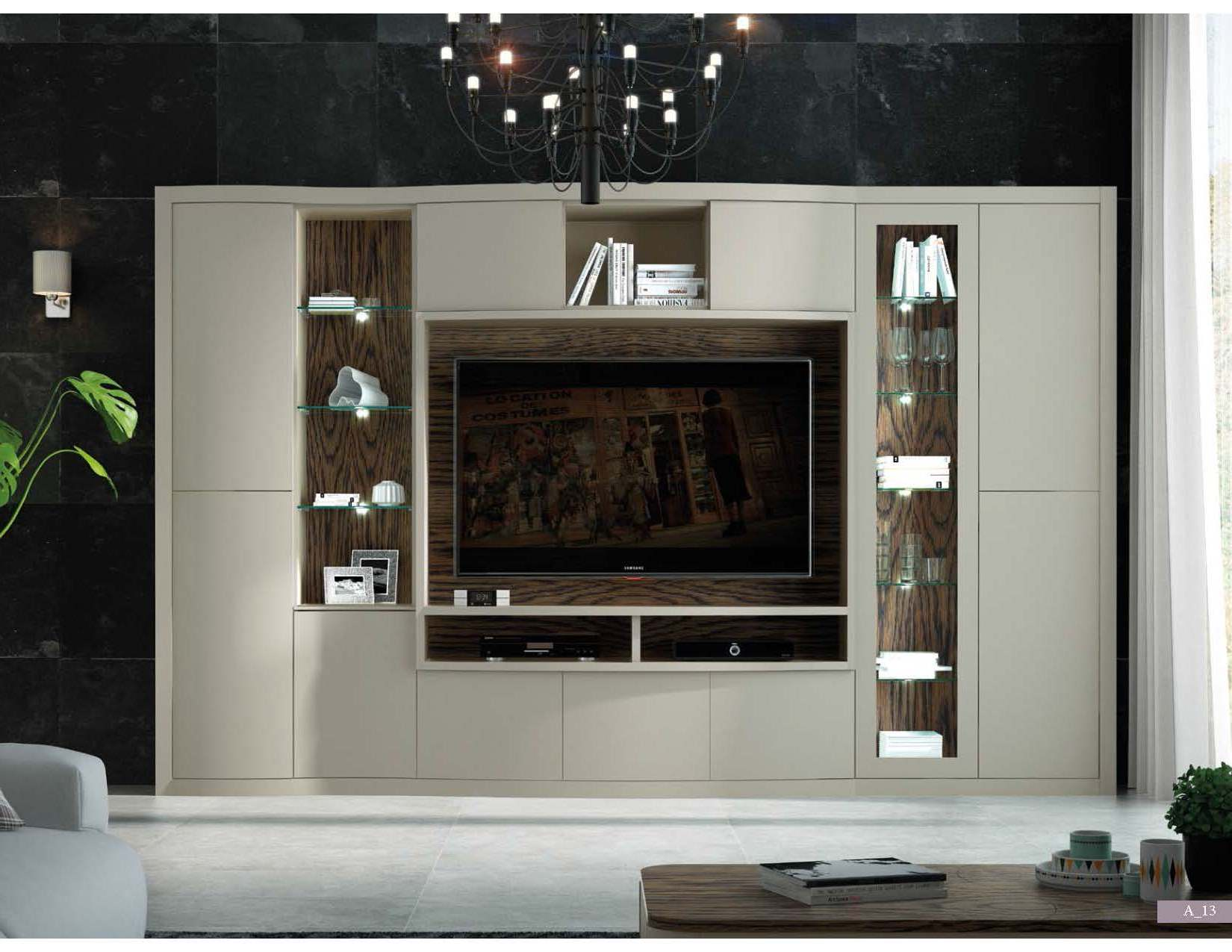 Brands Fenicia Wall Units, Spain Fenicia Wall Unit Salon 34