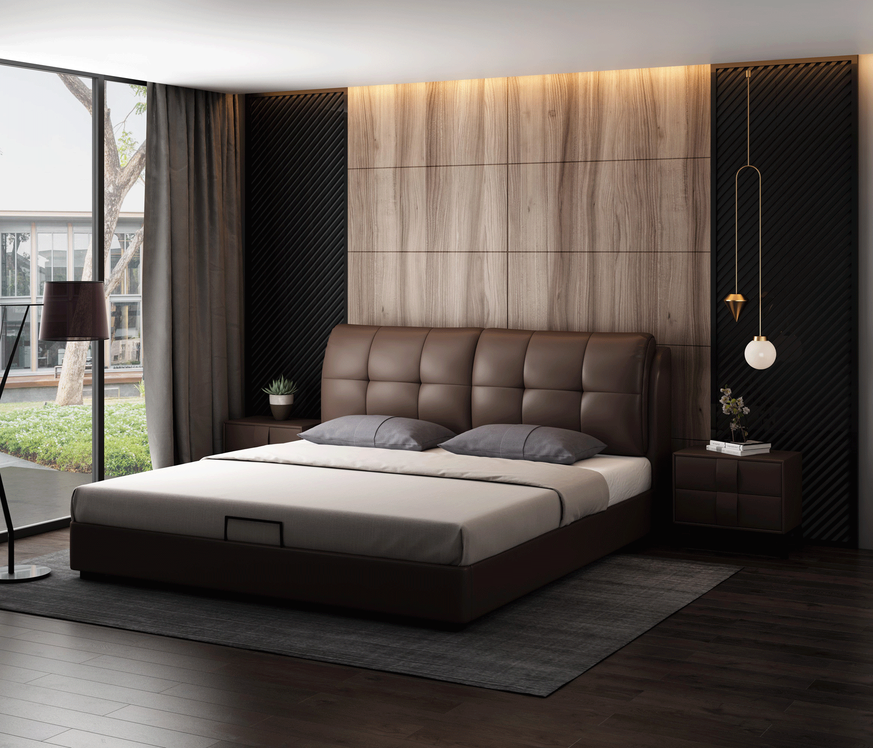 6099 Bed Swh Modern Beds Special Order Brands