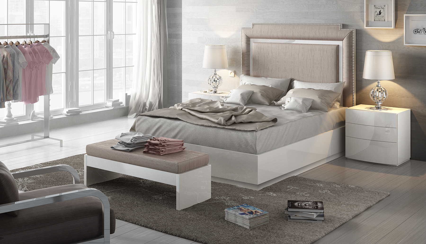 Brands Fenicia Modern Bedroom Sets, Spain Fenicia Composition 29 / comp 605