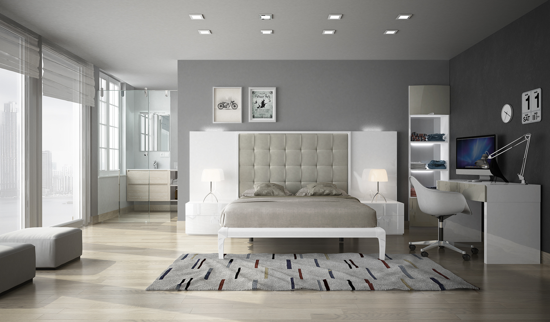 Brands Fenicia Modern Bedroom Sets, Spain Fenicia Composition 33 / comp 600
