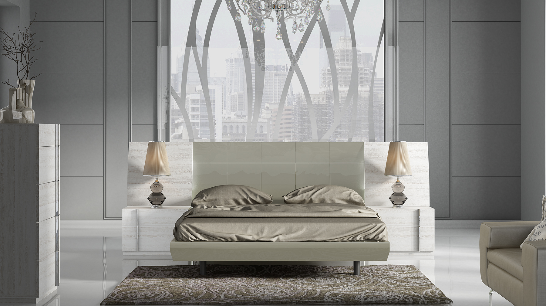 Brands Fenicia Modern Bedroom Sets, Spain Fenicia Composition 42 / comp 511