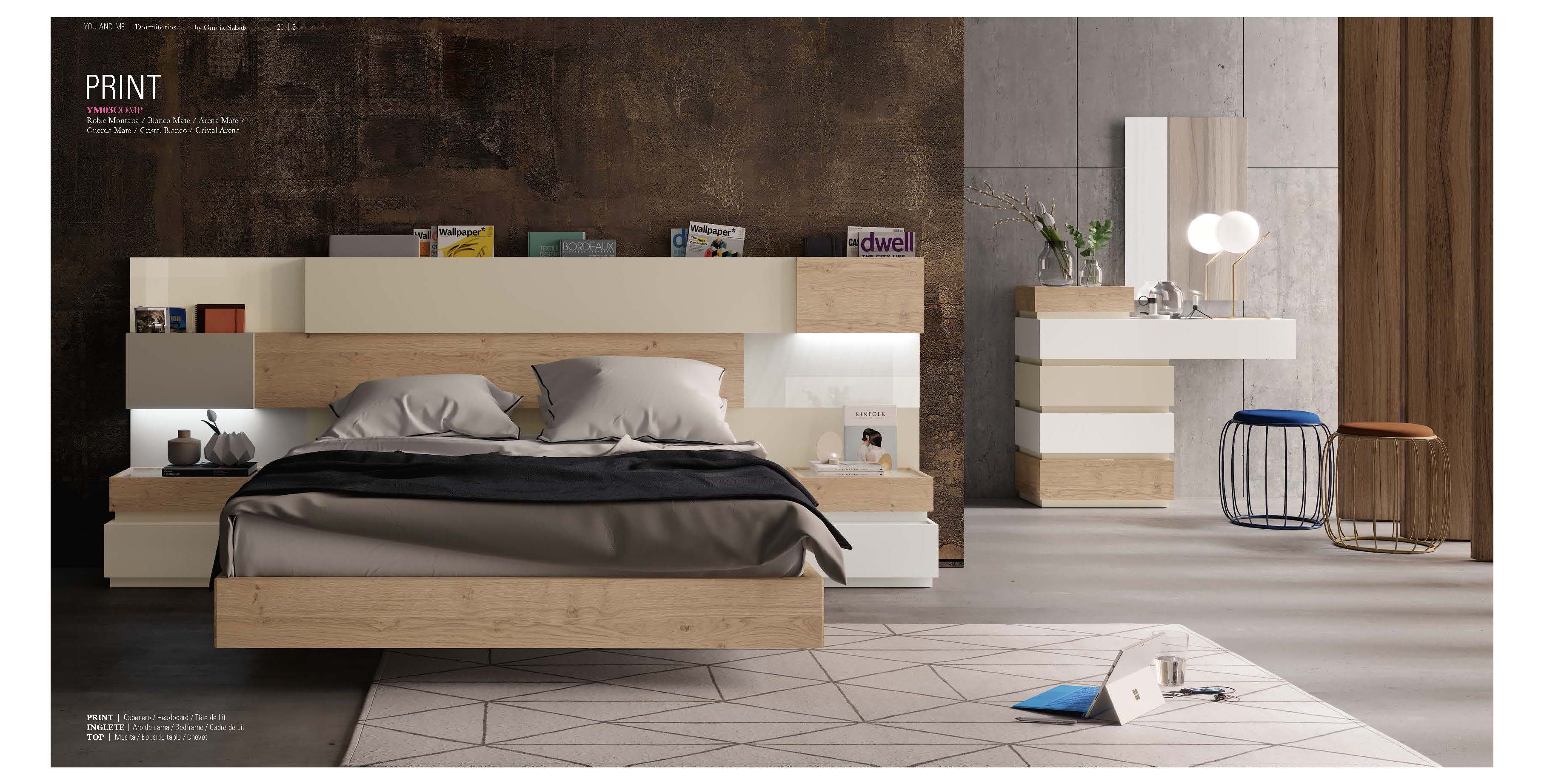 Brands Garcia Sabate, Modern Bedroom Spain YM03