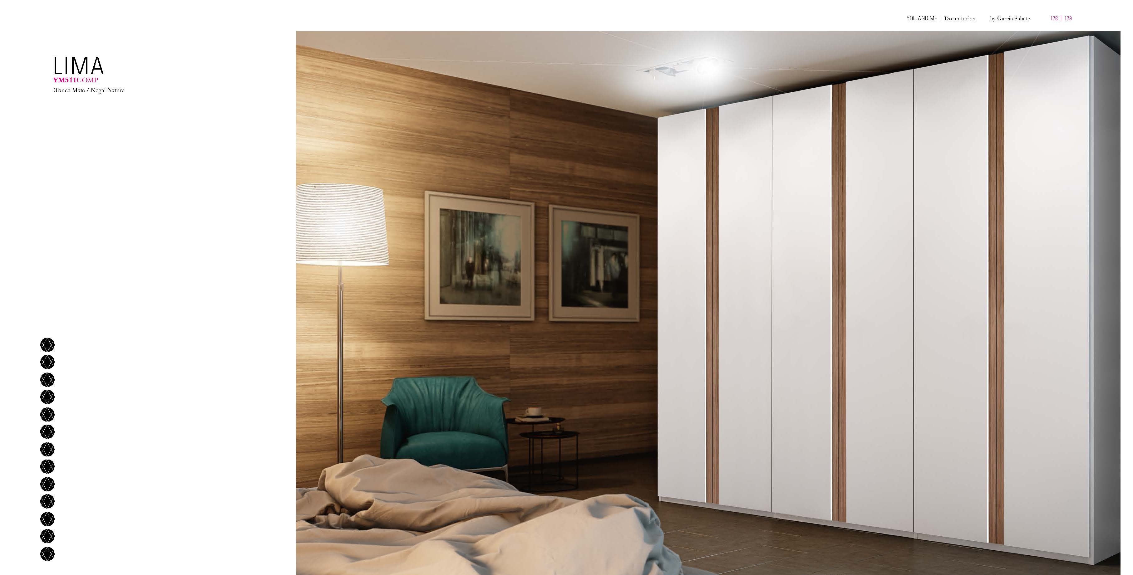 Brands Garcia Sabate, Modern Bedroom Spain YM511 Wardrobe
