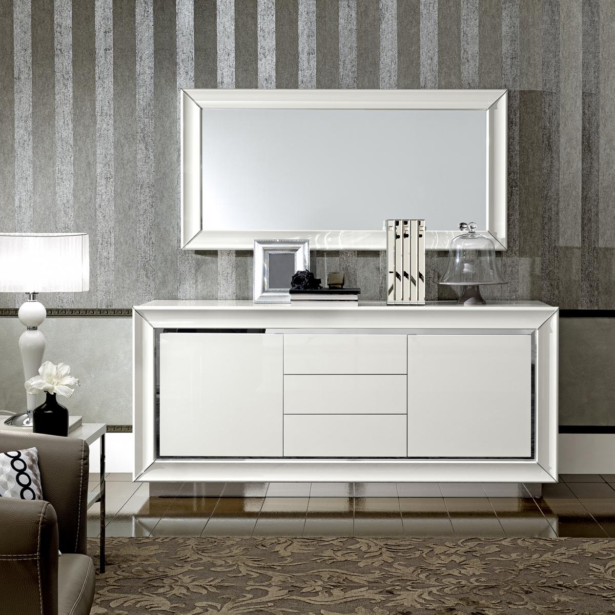 Dama Bianca Dining, Modern Formal Dining Sets, Dining Room