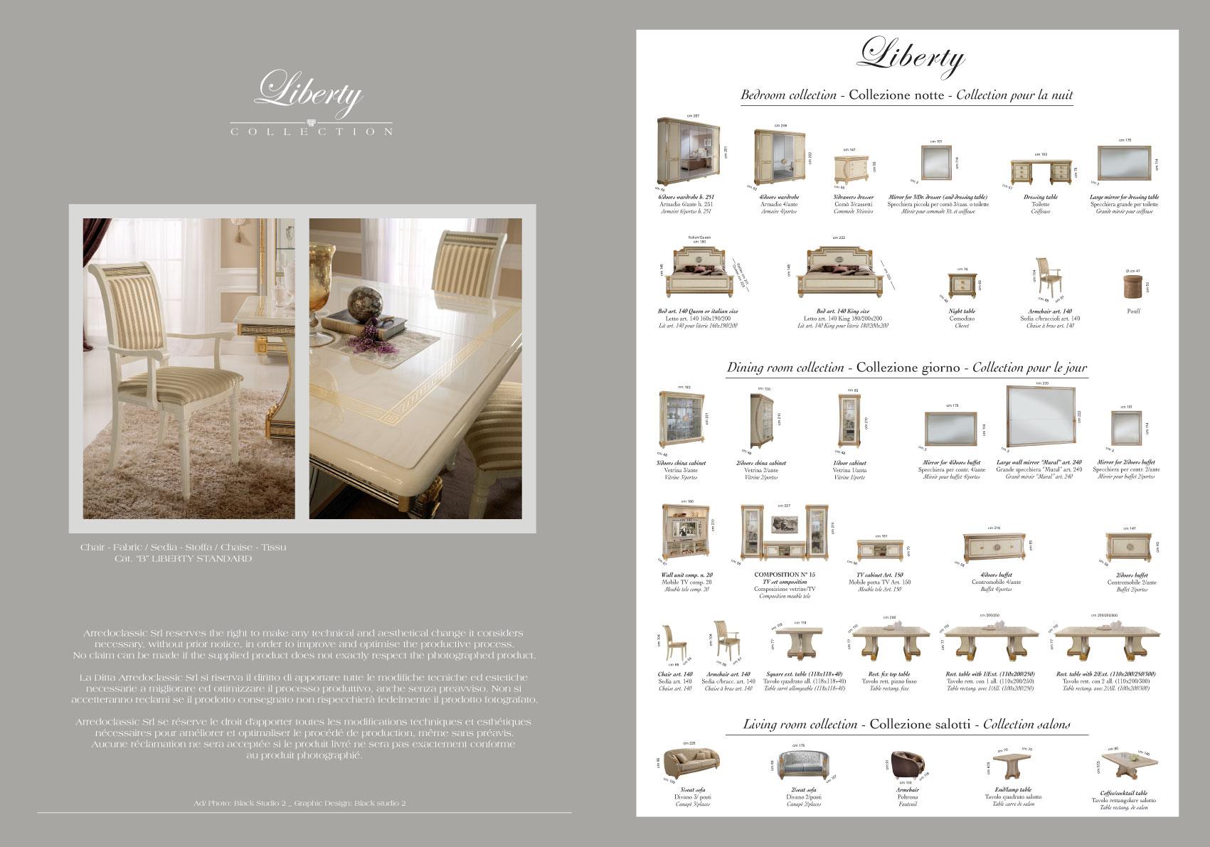 Liberty 2 Door Wardrobe