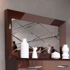 Rhombus design mirror